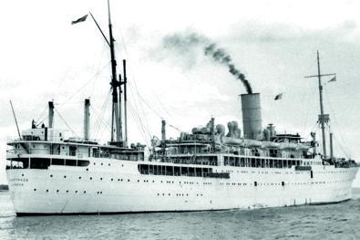 P&O's Far East Service ships