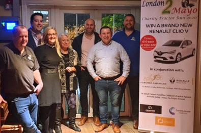 London2Mayo tractor run fund-raiser