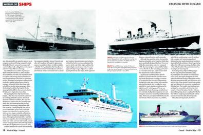 Cruising with Cunard 1921-2003