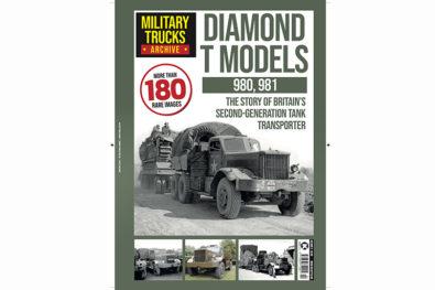 The Diamond T tank transporter