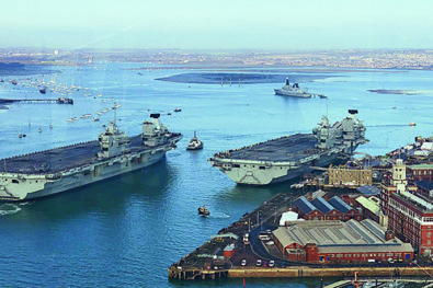 HMS Prince of Wales commissioned