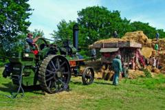 Steam-threshing in Suffolk