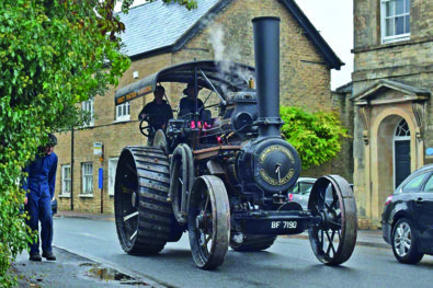 1903 Fowler A4 traction engine