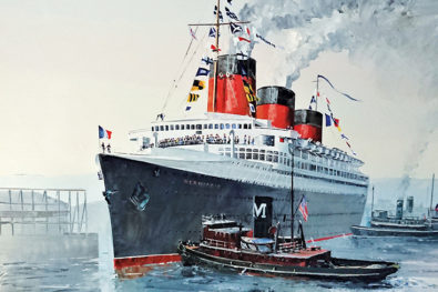 The record-breaking Normandie