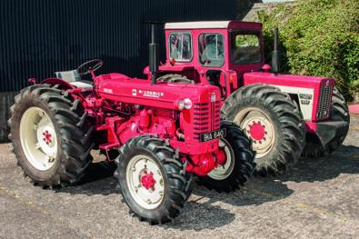Classic International tractors