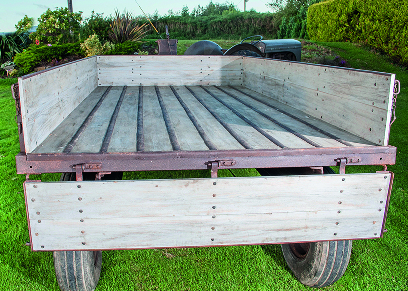 Beautifully-restored Ferguson Mark 1 trailer