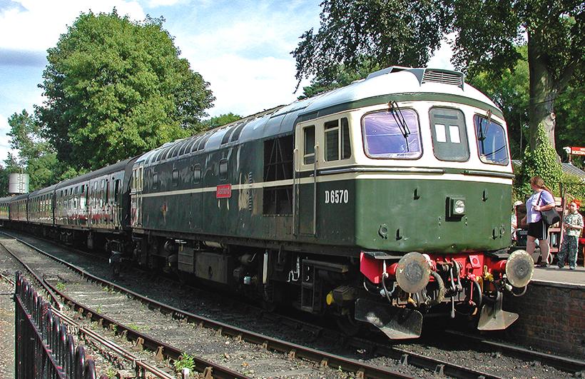 ex-BR Class 33 diesel loco