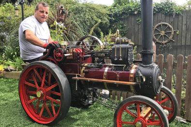 Merv's fantastic Dodman traction engine