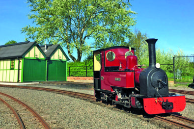 Evesham Vale Light Railway event