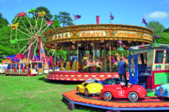 Historic gallopers ride on!