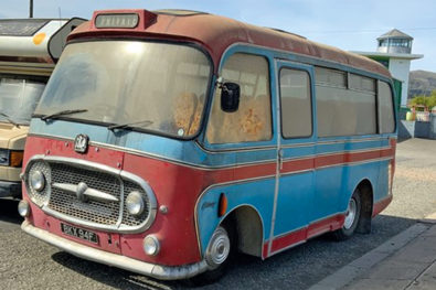 Bedford J2 coach sells well