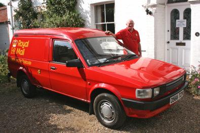 Austin Maestro diesel mailvan reborn