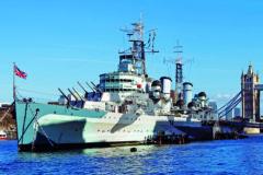 HMS Belfast reopens