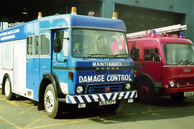 1982 Dodge damage control vehicle