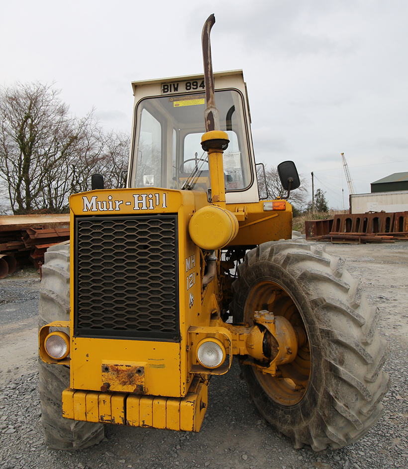 Muir-Hill tractor