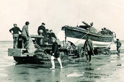 Lifeboat tractors