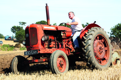 Two 60-year-old Nuffield tractors