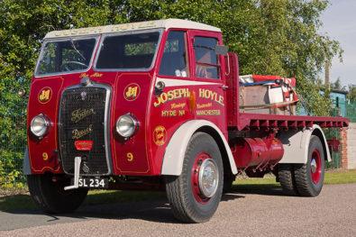Superbly-restored 1939 Foden DG5