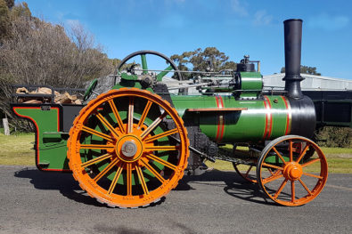 Richard Hornsby traction engine