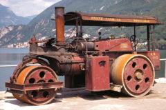 Wallis & Steevens steam roller