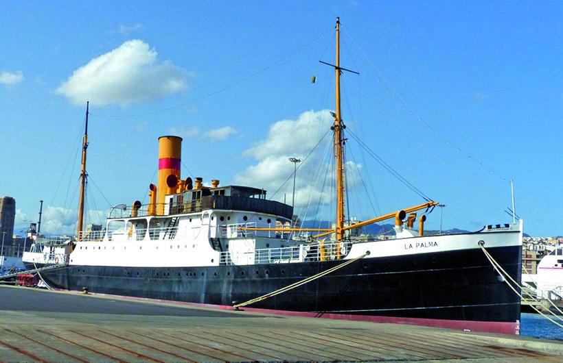 steam ship La Palma