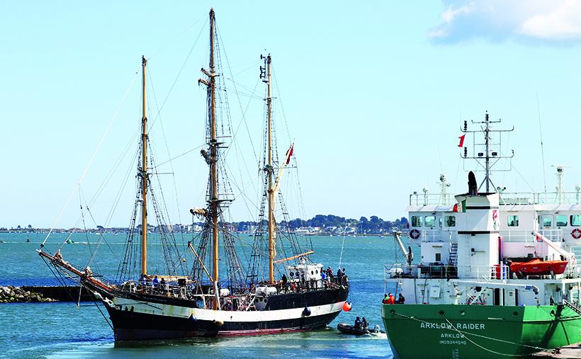 Historic tall ship