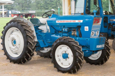 Ford tractors dominate at Cheffins!