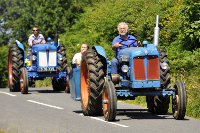 Mad Jack Fuller tractor road run!