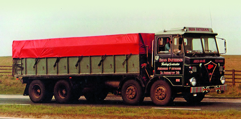Ex-army Foden recovery vehicle