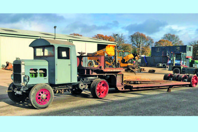 Historic 1923 Scammell S12