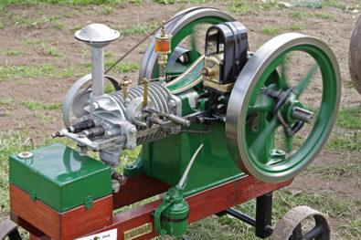 Air-cooled Amanco engines