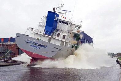 Scotline newbuild Scot Explorer launched