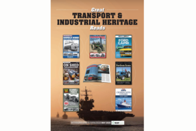 Great transport and industrial heritage reads to buy online