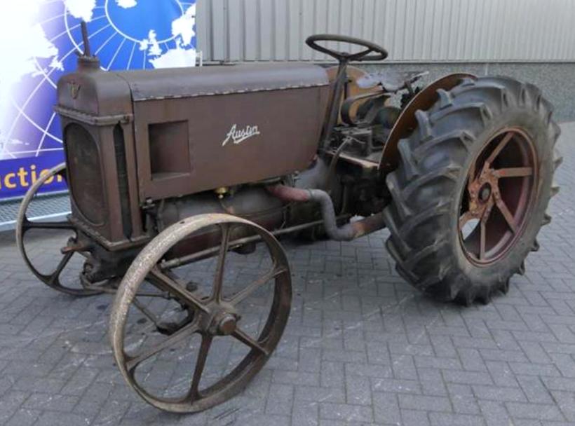 Antique Tractor Auction