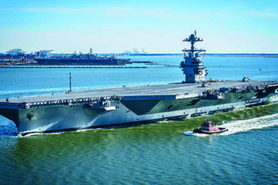 USS Gerald R Ford nears certification