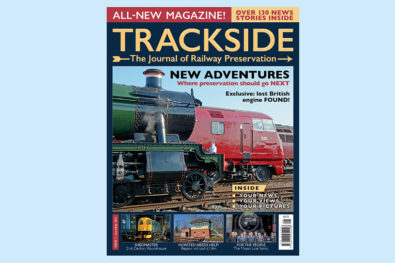 Newly-launched Trackside magazine