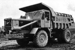 Classic larger dumptrucks