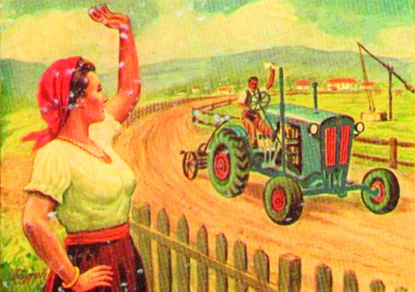 1940s Zadrugar T-08 tractor