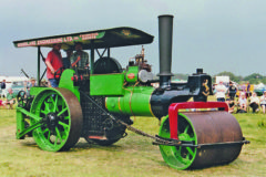 Seven traction engines!