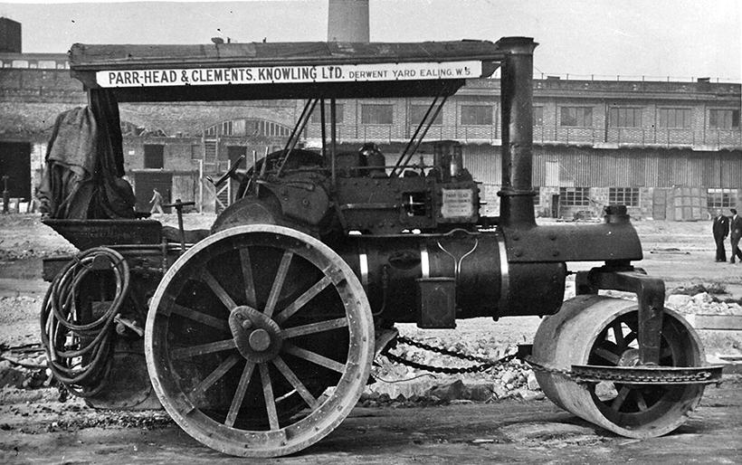 1915 Wallis & Steevens engine